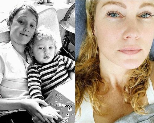 Jessicas söner Jack och Sam.