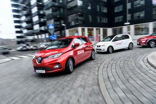 """""""Ny generation"""" påstår Renault. Men nya Zoe är extremt lik föregångaren."""