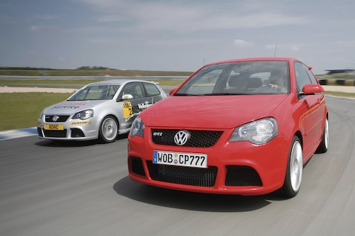 Polo generation fyra som GTI och Cup Edition.