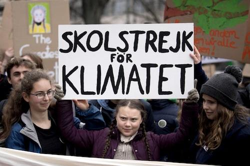 Åsa Lindhagen ser upp till Greta Thunberg och hennes kamp för klimatet.