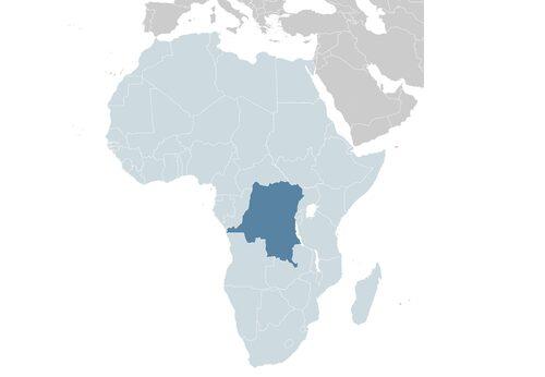 Demokratiska republiken Kongo, ofta kallat Kongo-Kinshasa.