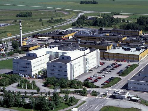Saabs tidigare del av Stallbacka-området i Trollhättan.