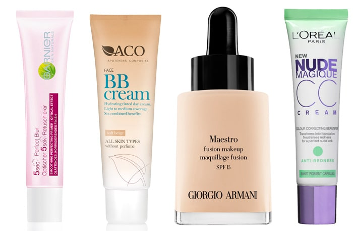 Primer, bb-creams och cc-creams - produkterna som gör dig snygg snabbt!