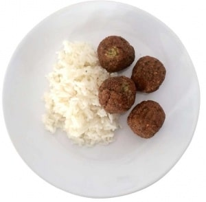 Falafel med ris – är det bättre än köttbullar och makaroner?