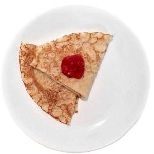 Pannkakor, är det bra mat för barn?