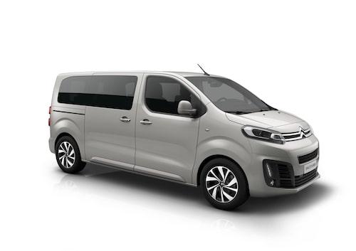 Citroën Spacetourer fick högsta krocktestbetyg.