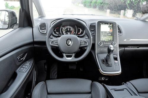 Renault-skärmen ger dig en miljard inställningsmöjligheter. Minst!
