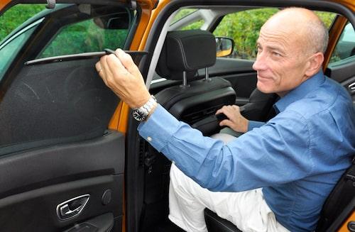 """Renault Scenic är välutrustad redan i basversionen """"Zen""""."""