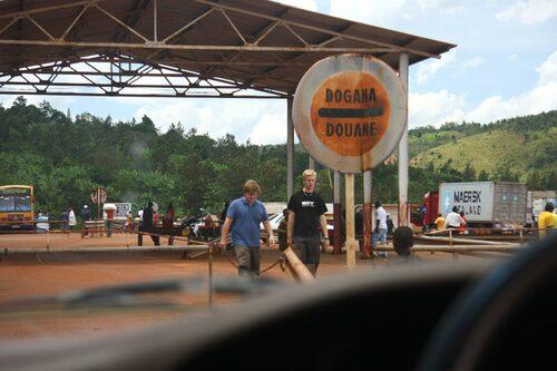 På väg tillbaka från Kongo in i Burundi