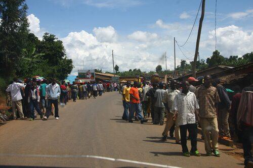 Burundi gav flashbacks från Etiopien. 9 miljoner på en yta som småland ungefär.