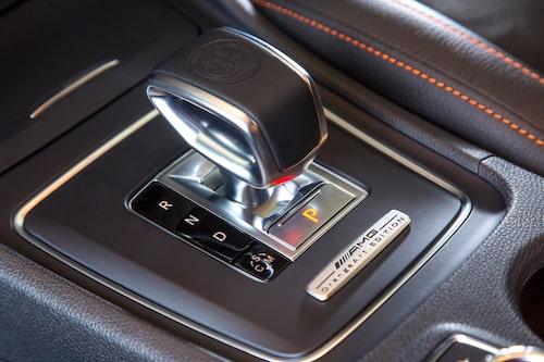Är inte detta en av bilvärldens allra läckraste växelväljare? Snygg och väldigt mysig att hålla i.