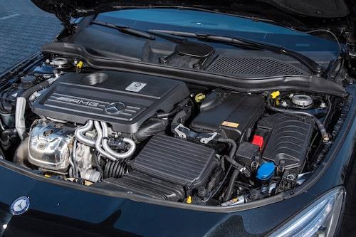 AMG-versionen bjuder på 360 hästkrafter och tar Shooting Brake från 0-100 km/h på 4,7 sekunder.