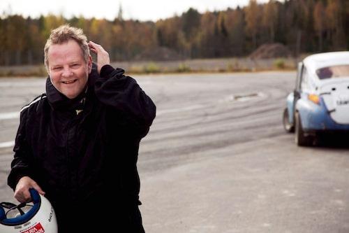 """PeO Kjellström har följt """"Grus-Kalles"""" PV genom alla år och nu, äntligen, fick han provköra den."""