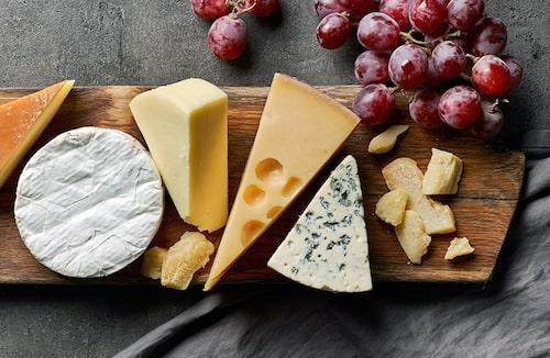 Vilka ostar kan man äta när man är gravid? Foto: Shutterstock.