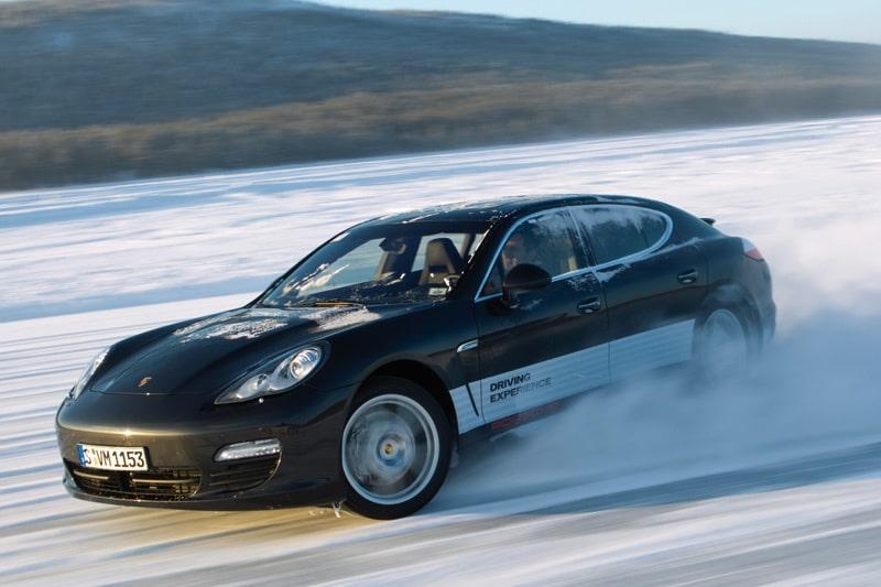 Provkörning av Porsche Panamera 4S