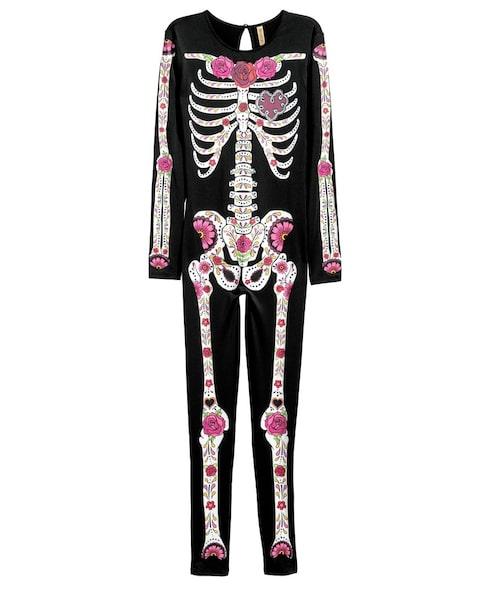 Skelettdräkt, 249 kr.