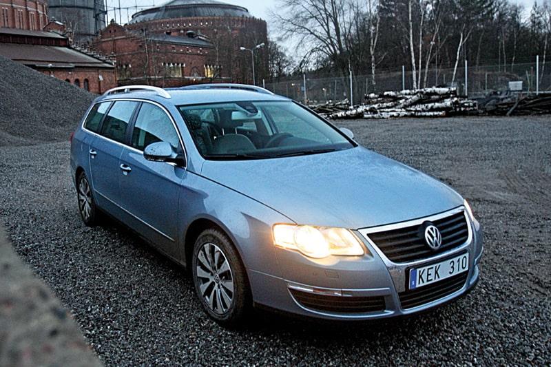 Provkörning av Volkswagen Passat Variant TDI 105 BlueMotion Technology