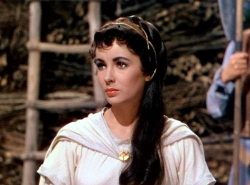 Elizabeth Taylor spelade Rebecca i Ivanhoe från 1952.