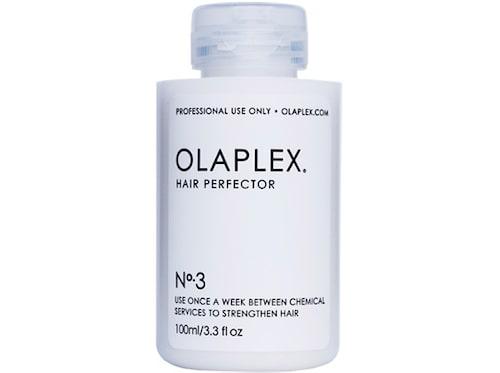 Inpackning N°3, 250 kr/ 100 ml, Olaplex.