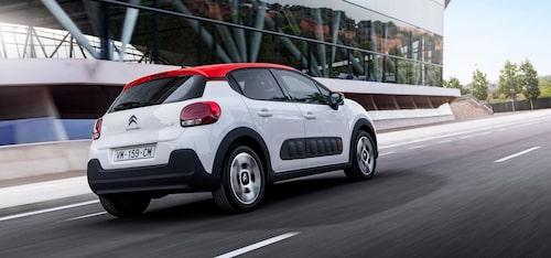 Citroën C3 i sin senaste skepnad är betydligt mer vågad i sin design än tidigare generationer.