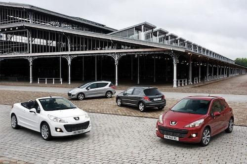Peugeot 207 facelift