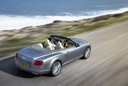 Bentley Continental GTC facelift