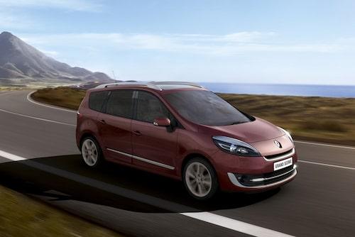 Renault Grand Scenic facelift