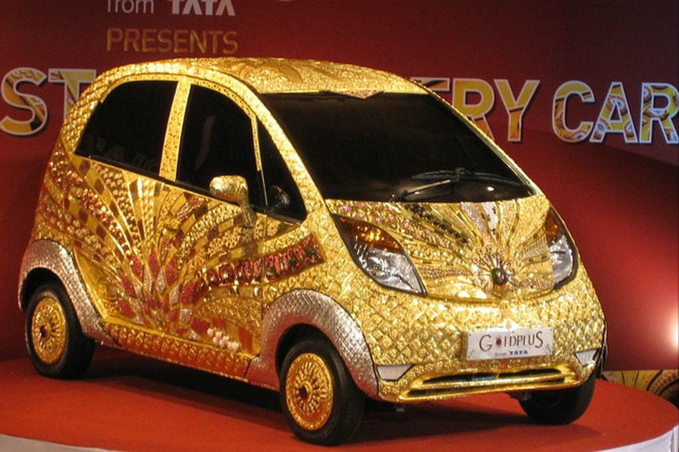 Tata Nano i guld