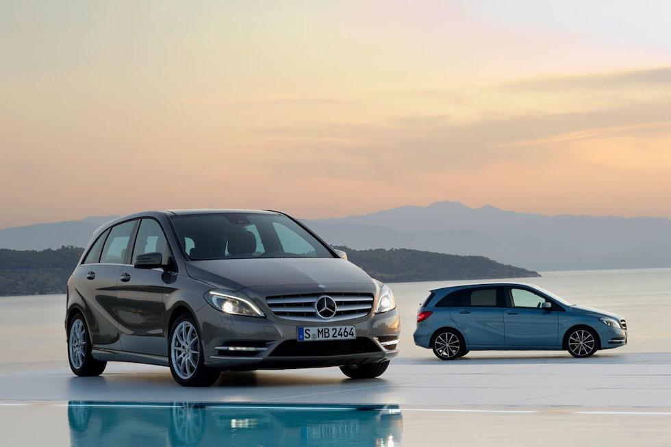 Nya Mercedes B-klass