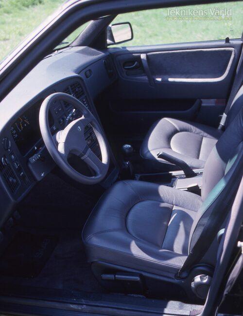 Saab 9000 Talladega årsmodell 1989. Från Teknikens Världs provkörning 1988.
