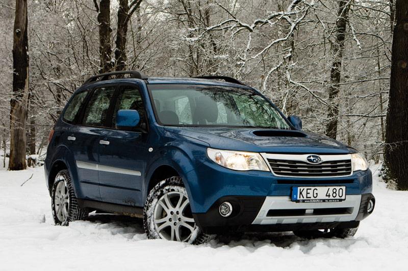 Provkörning av Subaru Forester 2,5XT
