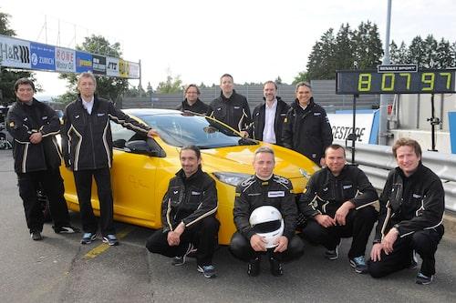Renault RS Trophy sätter ny rekordtid på Nürburgring