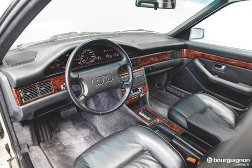 Typisk Audi-interiör från förr.