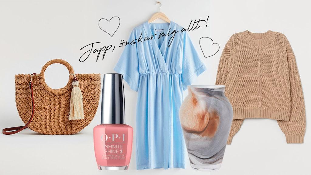 Snyggaste stråväskan, sköna klänningar och tröjor, fin inredning och bästa skönhetsprodukterna – här är 15 perfekta tips på presenter till mors dag.