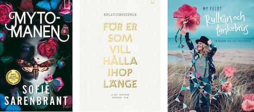 Boktips i mors dag-paketet ger läsning hela sommaren: Mytomanen, Relationsbibeln och Rullrån och tankebrus