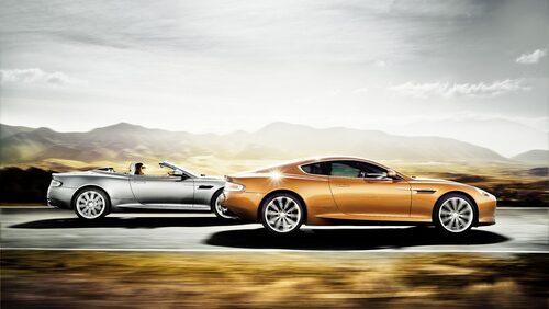 Aston Martin Virage Volante och Aston Martin Virage Coupé