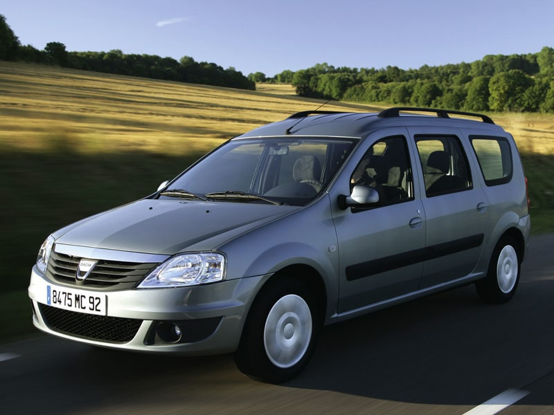 Provkörning av Dacia Logan MCV