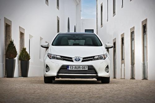 Det nya Toyota: Aggresivare front!
