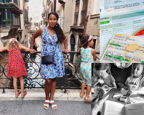 Drömmen: Massor av tid för familjemys under resan.