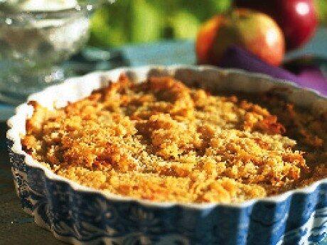 Råriven äppelkaka
