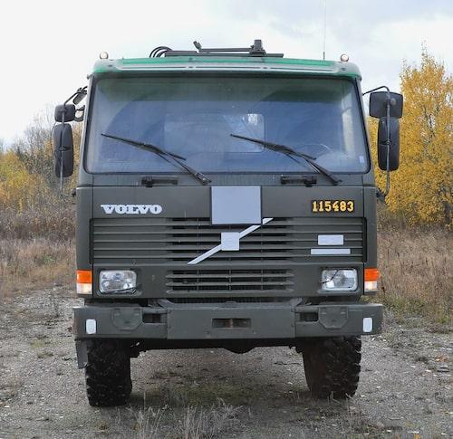 Volvo FL10 rullflaksbil