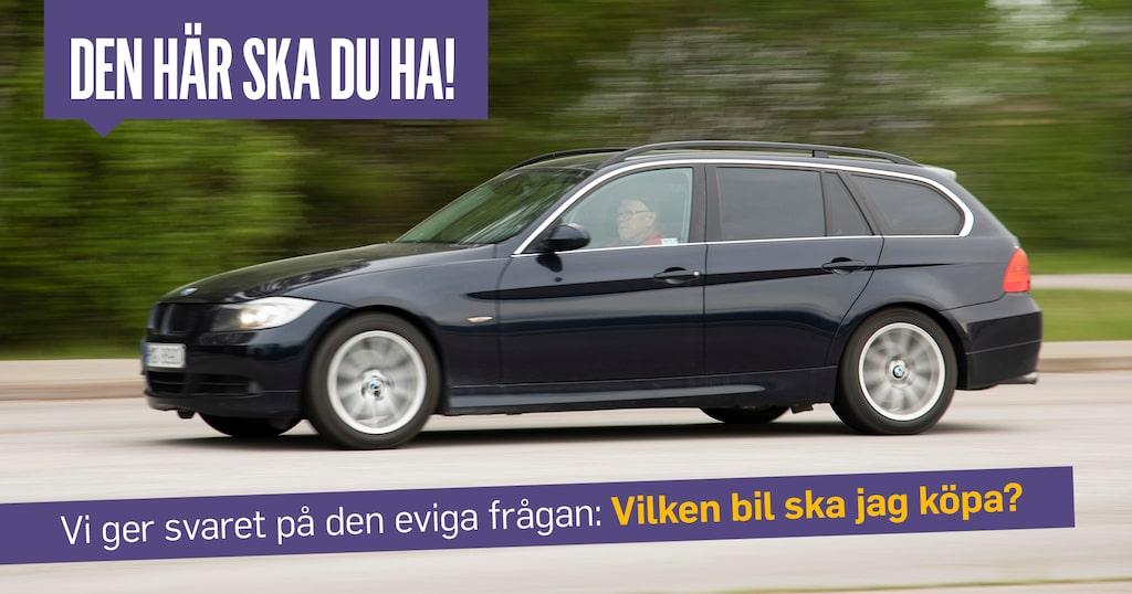 BMW 325 modell E90 bensinare med manuell växellåda är ingen dussinbil. Det fanns bara fyra begagnade i hela Sverige när Ruben skulle köpa.