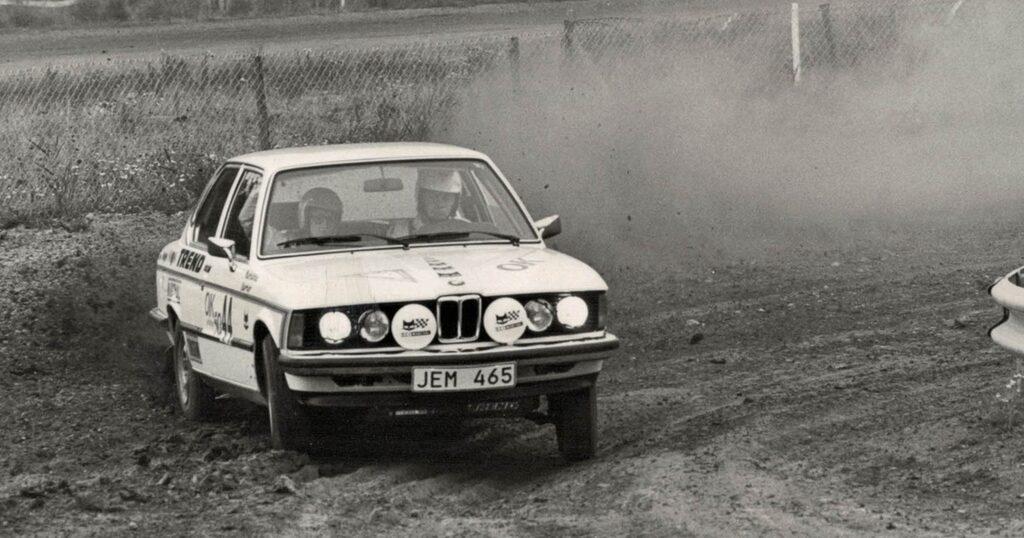 Redan på 1970-talet var Ruben BMW-frälst. Han byggde faktiskt den första BMW 320 rallybilen 1976.