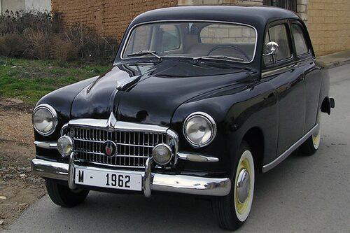 Seat 1400 A som 1955 efterträdde 1400.
