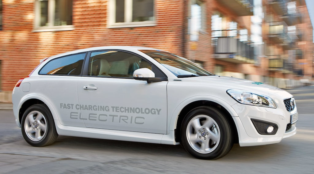 Volvo uppdaterar C30 Electric 2014