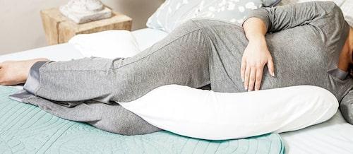 Gravidkudden från Umami är mjuk och flexibel.