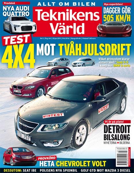 Teknikens Värld nummer 3 / 2011
