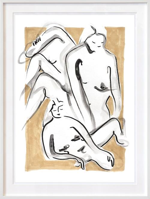 """Tavla """"We´re in this together"""", 2 500 kr, Elin Krönström x Noa Gallery i samarbete med Damernas Värld. Mer info och köp här https://www.noagallery.se/alla-konstnarer/fashionable-art-by-damernas-varld/were-in-this-together"""