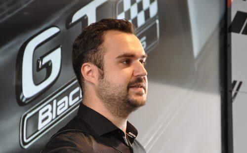 Johannes Hettinger, projektledare Mercedes-AMG GT Black Series.