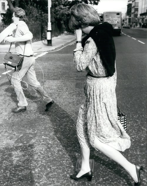 Diana fotograferad 1980.